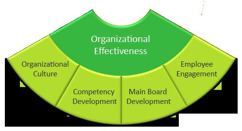 Organisational Effectiveness wheel