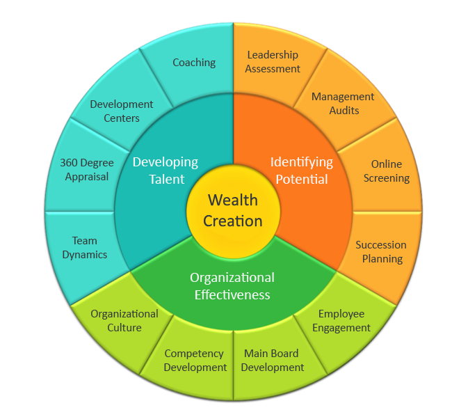 Talent Management wheel - Services | hfi